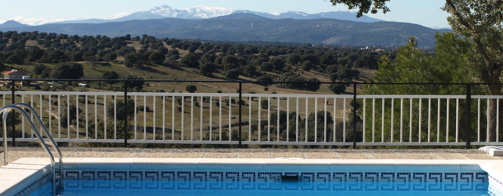 Disfrute de unas vistas inmejorables de la sierra de Madrid